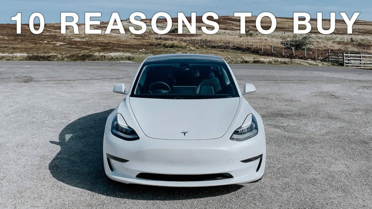 10 Reasons to buy an EV