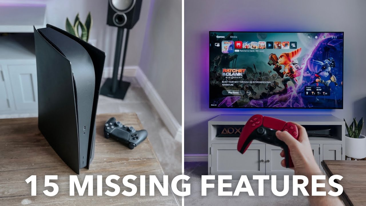 Missing PS5 Features