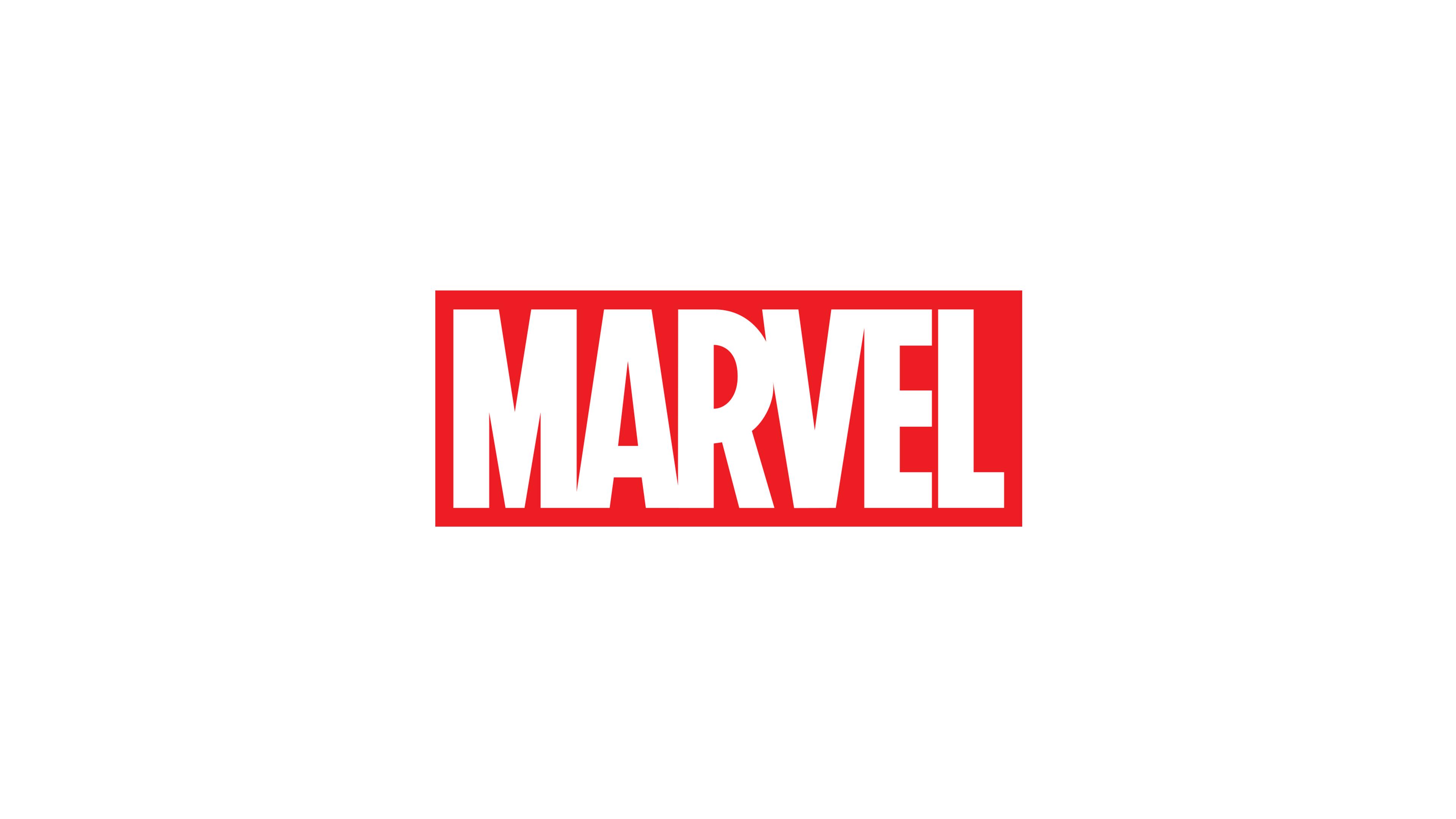 Marvel Logo White